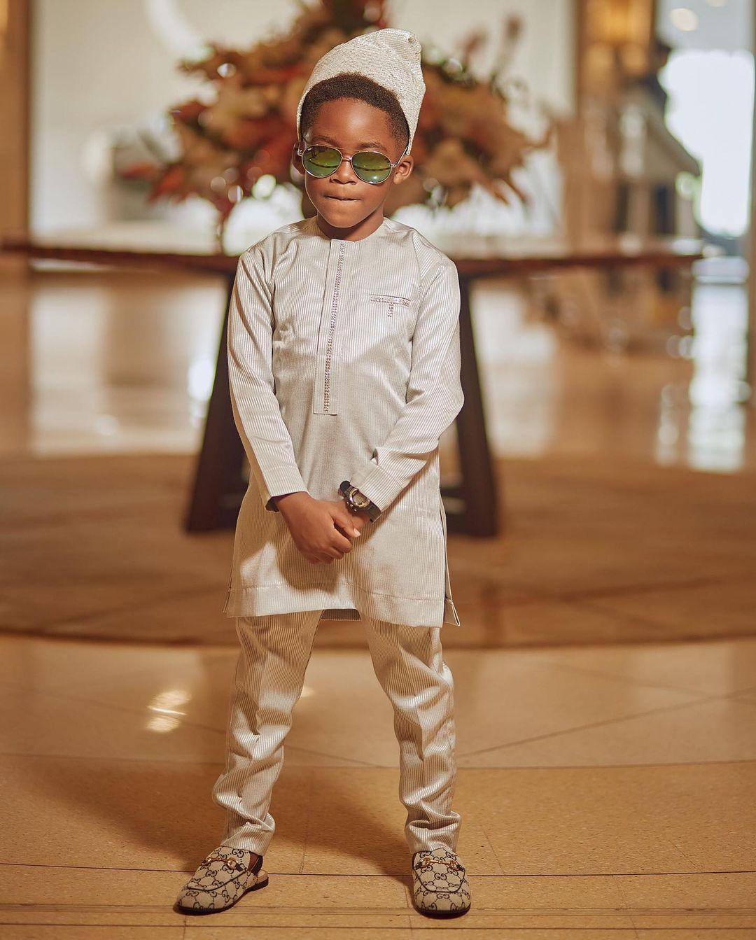 Tiwa Savage's son Jamal