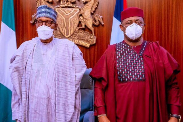 Buhari and Femi Fani-Kaydode