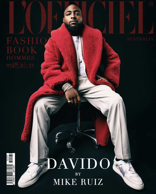 Davido  L'Officiel Fashion Book Australia