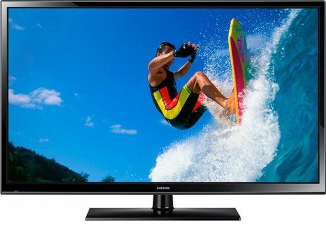 A Plasma TV produced by Samsung