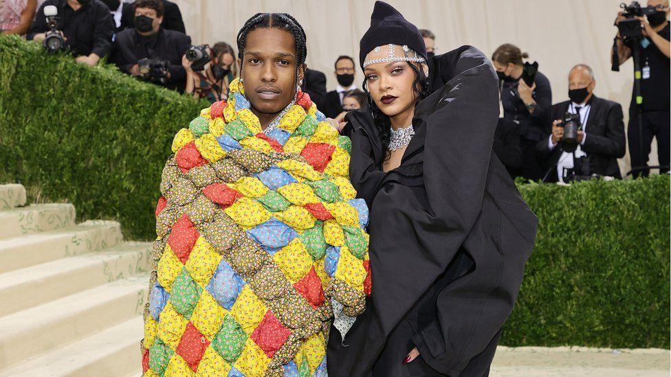 A$AP Rocky and girlfriend Rihanna