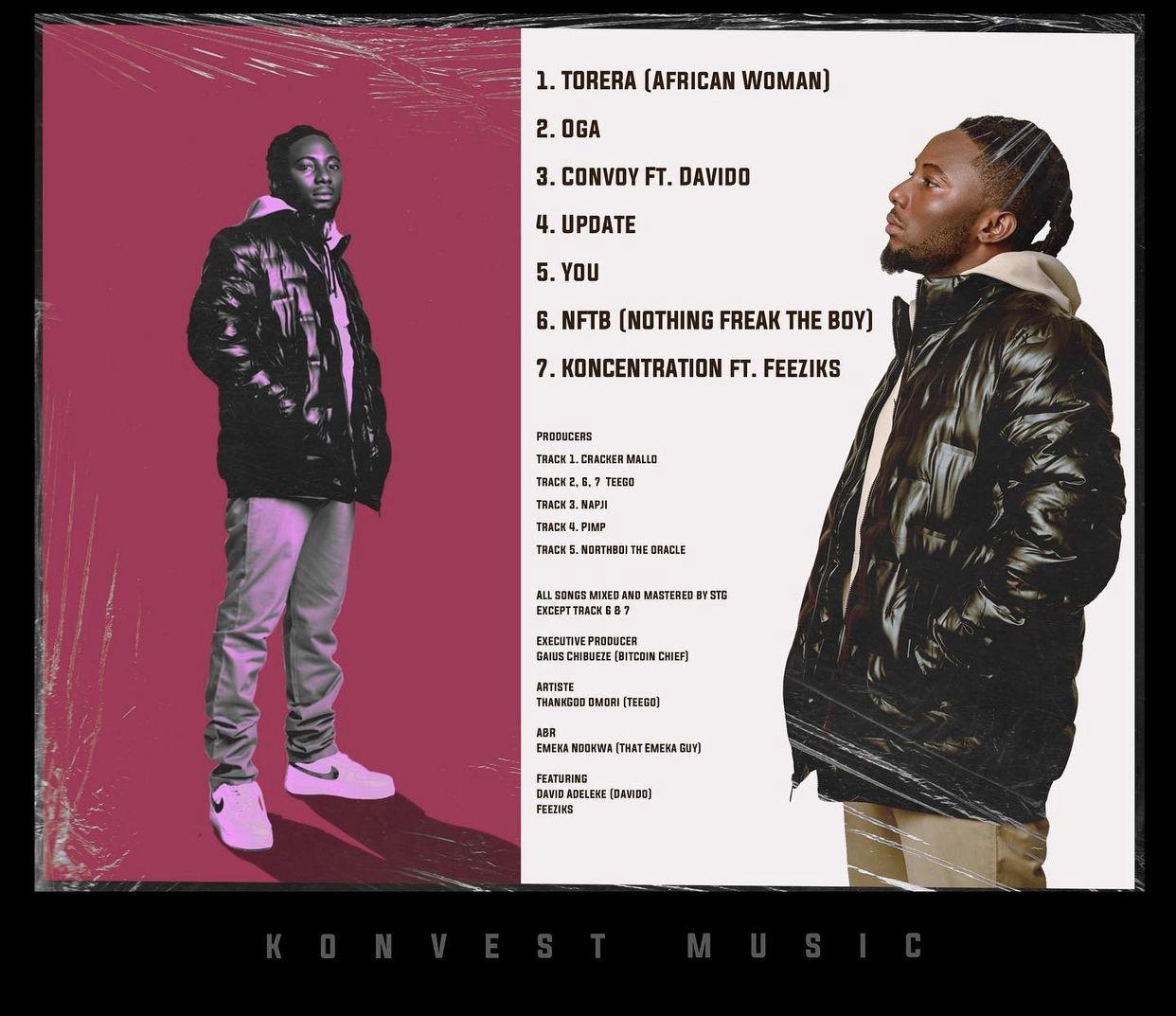 "Teego ""Koncentration"" EP tracklist"