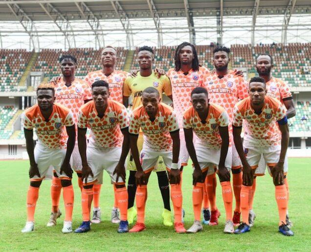 Akwa United players