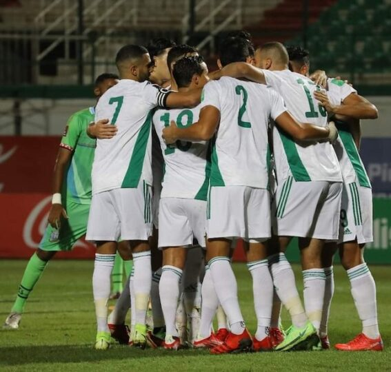 Algerian team now 28 match winning streak