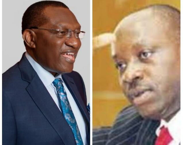 Andy Uba and Soludo: among the 18 candidates to contest in Anambra governorship election as contained in final list published by INEC