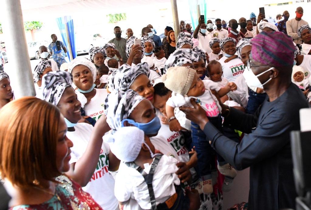 Sanwo-Olu launches nutrition scheme for newborns - P.M. News