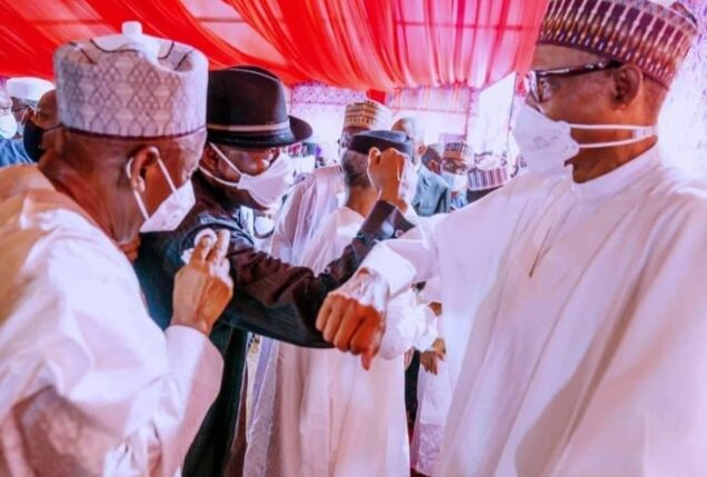 Buhari, right, Changed by political power