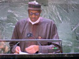 Buhari at UNGA76