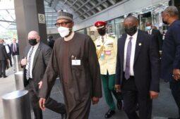 Buhari at the UN on Friday