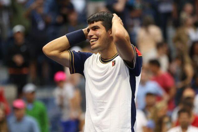 Carlos Alcaraz sees off Tsitsipas at U.S. Open