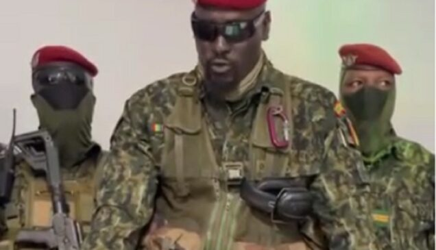 Colonel Mamady Doumbouya Guinean coup leader
