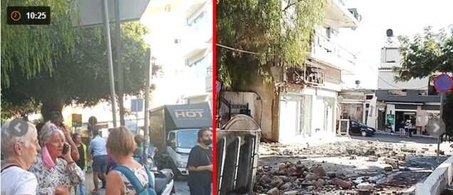 Crete Island after the eathquake today. twitter photo
