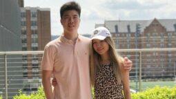 Cynthia and Victor Liu