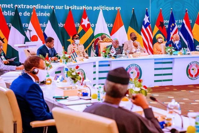 ECOWAS leaders at the summit