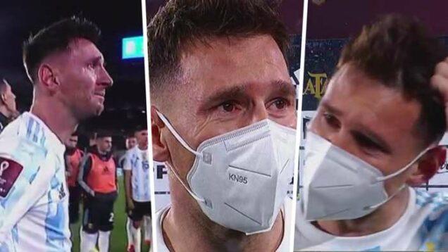 Emotional Messi