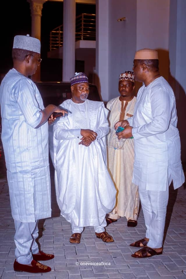 Fani-Kayode with his new political allies