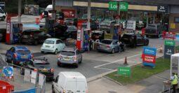 Fuel queues in UK bites harder