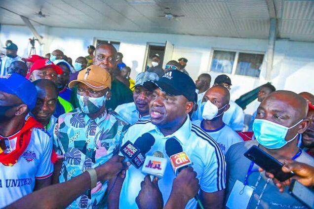 Governor Diri keeps promise to Bayelsa United