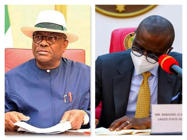 Governors Wike, Sanwo-Olu stopped by Appeal court over VAT law