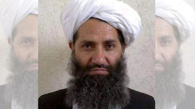 Hibatullah Akhundzada spiritual leader of Taliban's Afghanistan
