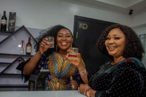 Jaiya Kuti and HOPE Brand CEO, Mrs. Kiki Okewale