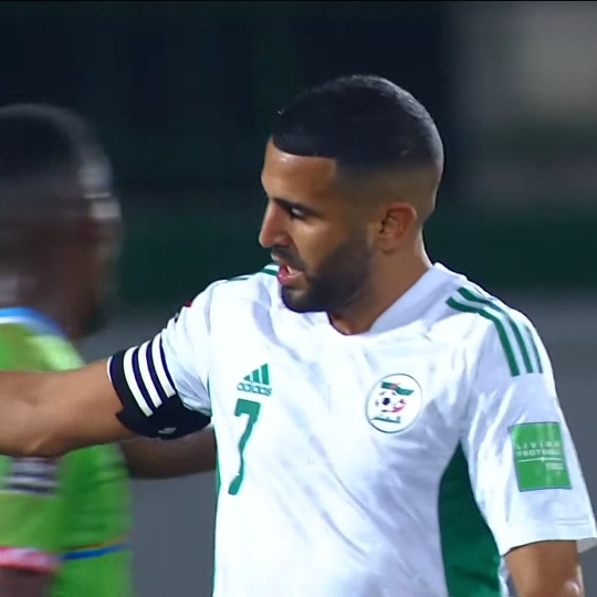 Mahrez also scored