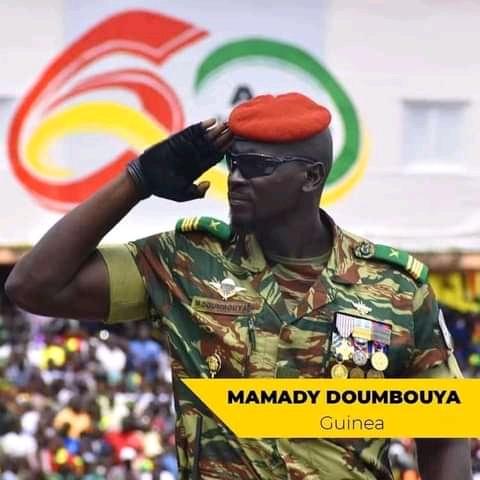 Mamady Doumbouya: leads Guinea's coup d'etat