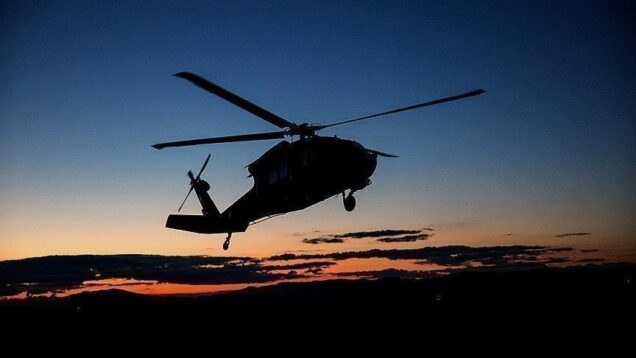Military helicopter crashes in Ivory Coast