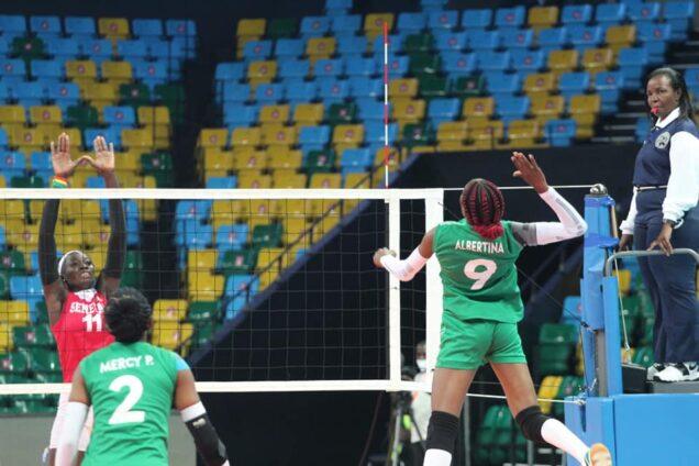 Nigerian women versus Senegal
