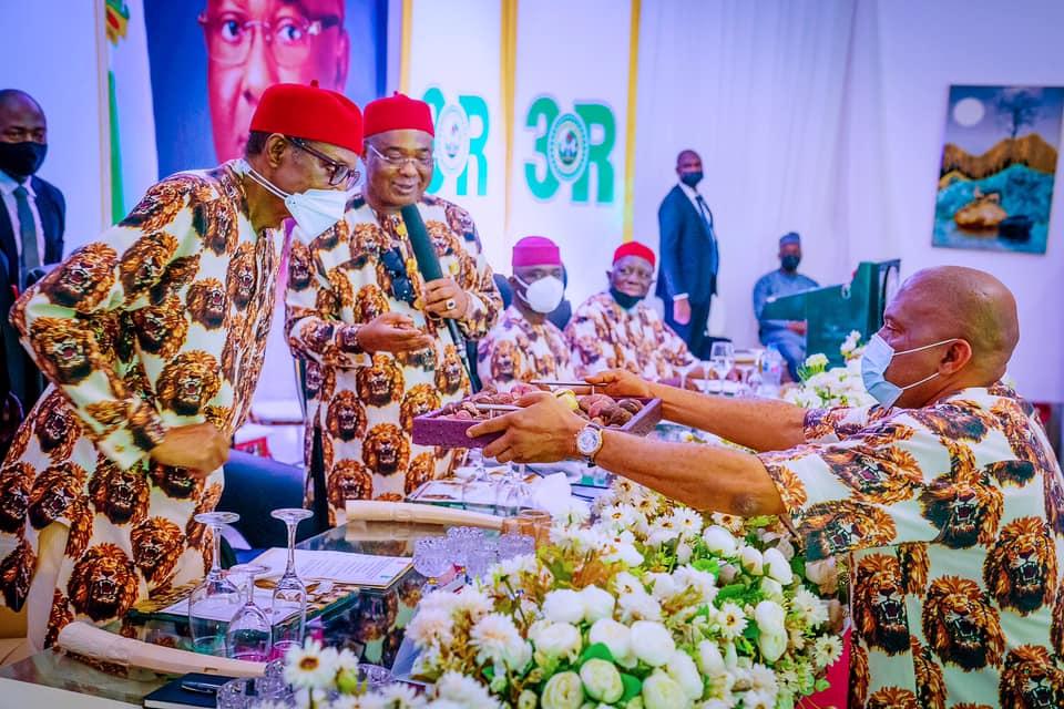 Buhari, during his visit to Imo
