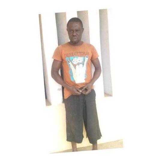 Olaoluwa Jimoh arrested in Ogun for raping daughter
