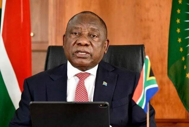 President Ramaphosa announces the loosening of COVID-19 curbs