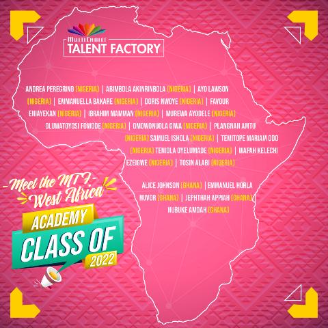 MTF West Africa Academy List