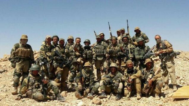 Russian mercenaries in Africa