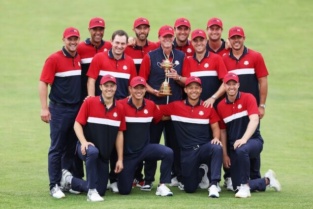 Team USA the 43rd Ryder Cup champions