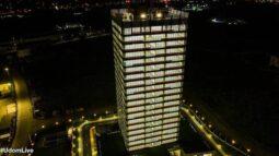 The 21-storey Dakkada Tower in Uyo