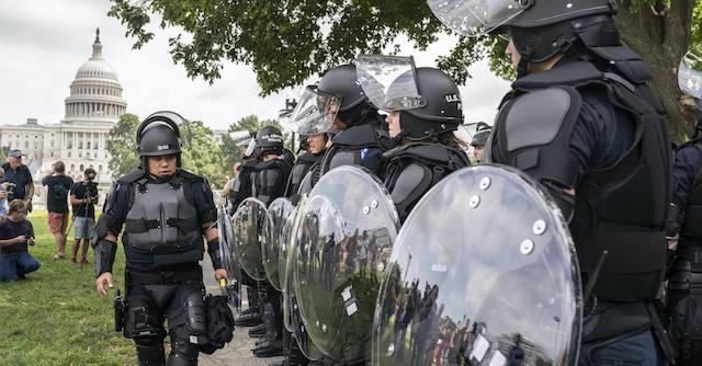 U.S. Capitol police well prepared for the protesters