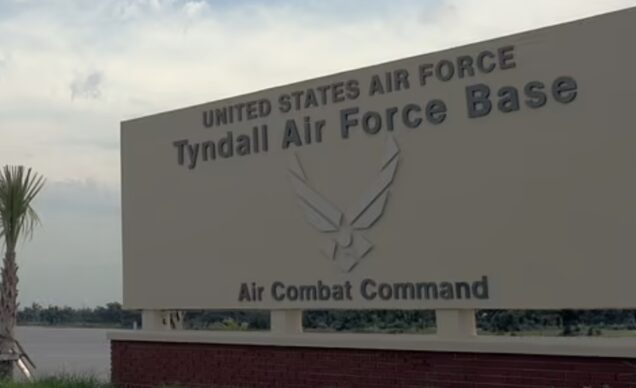 U.S. Tyndall Air Force Base: scene of shooting incident