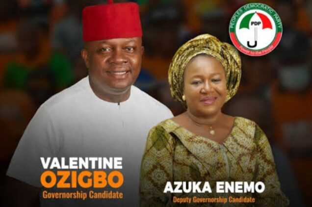 Valentine Ozigbo and Lilian Enemo