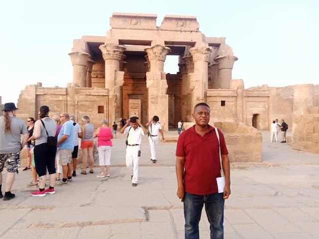 Wale Okediran in Egypt