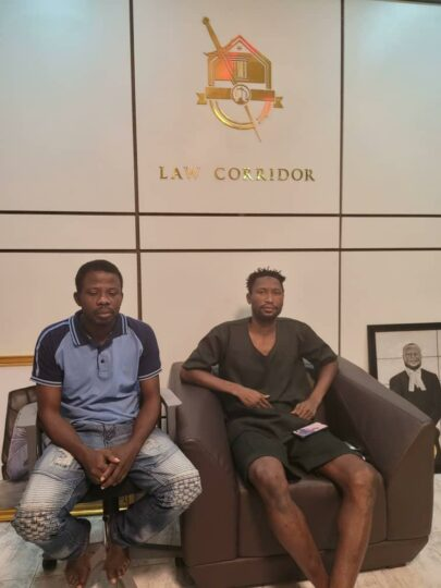 the two associates of Igboho released by DSS on Friday