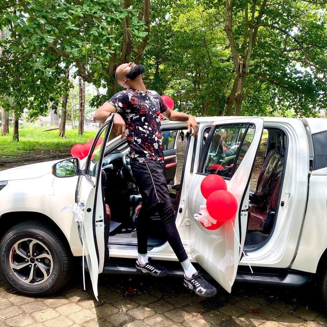 Fan gift ex-BBNaija housemate Tochi brand new car