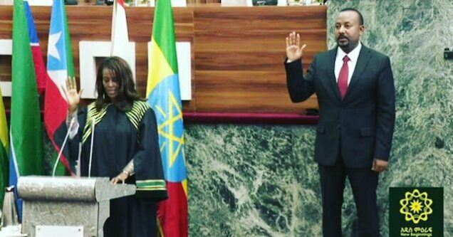 Abiy Ahmed sworn in as Ethiopia&#Array;s Prime Minister