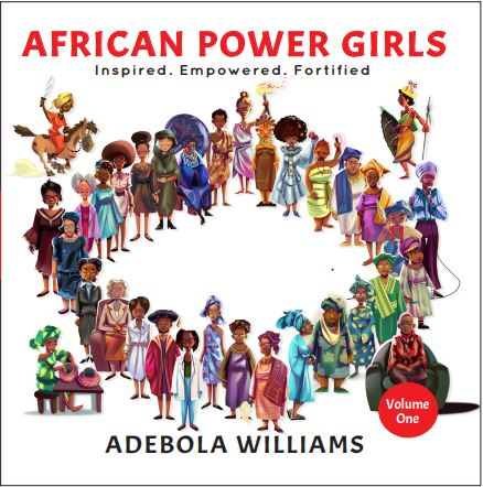 African Power Girls Book Cover –