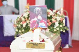 Agnes Jebet Tirop: Final farewell