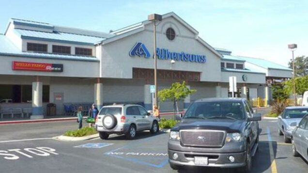 Albertsons supermarket in Morro Bay where the $700m jackpot ticket was bought