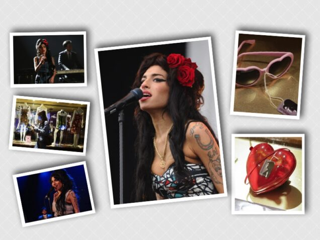 Amy Winehouse personal items for auction