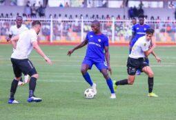 Bayelsa United vs CS Sfaxien in the first leg in Yenagoa