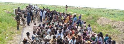 Boko Haram members who surrendered