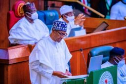 Buhari presents Budget 2022